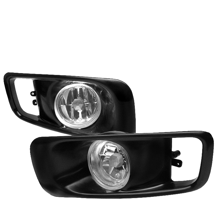 Honda Civic 1999-2000  Clear Fog Lights