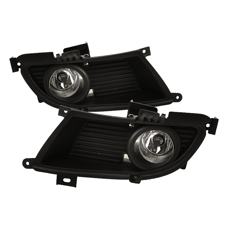 Mitsubishi Lancer 2004-2006  Clear Fog Lights