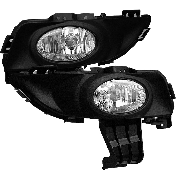 Mazda Mazda 3 2003-2005  Clear Fog Lights