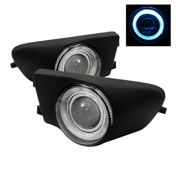 Bmw 5 Series 1996-2000  Clear  Halo Projector Fog Lights