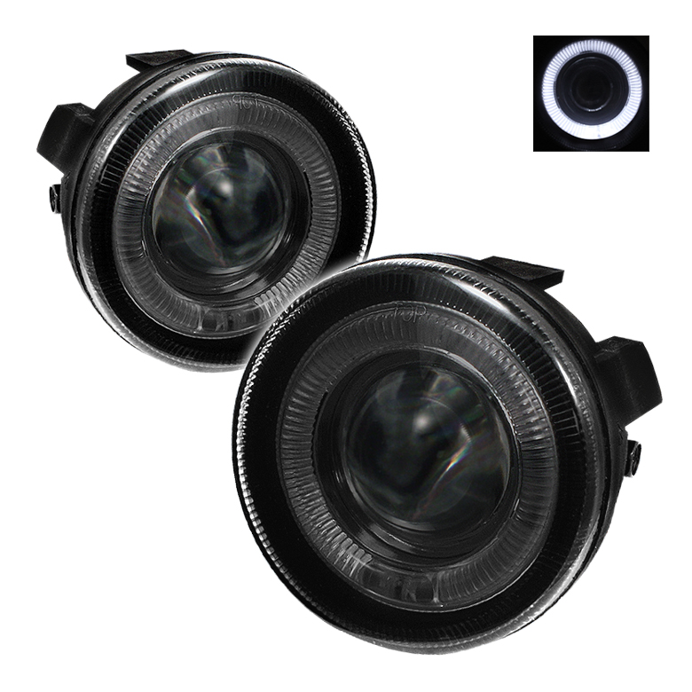 Dodge Durango 2001-2003  Smoke Halo Projector Fog Lights