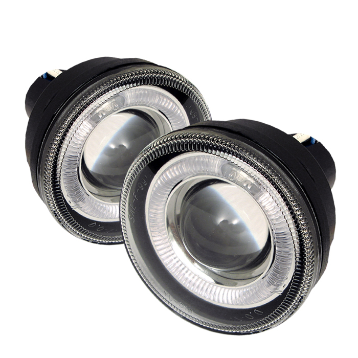 Dodge Durango 2001-2003  Clear  Halo Projector Fog Lights