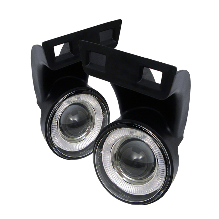 Dodge Ram 1994-2001  Clear  Halo Projector Fog Lights