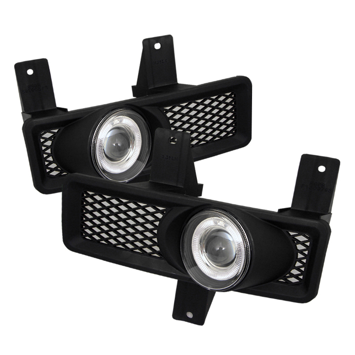 Ford F150 1997-1998  Clear  Halo Projector Fog Lights