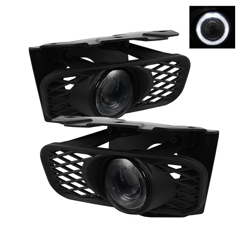 Ford F150 1999-2003  Smoke Halo Projector Fog Lights