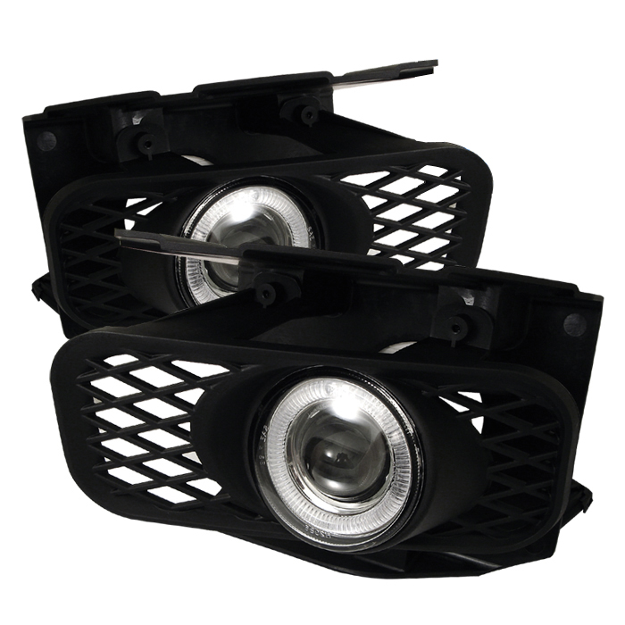 Ford Expedition 1999-2002  Clear  Halo Projector Fog Lights