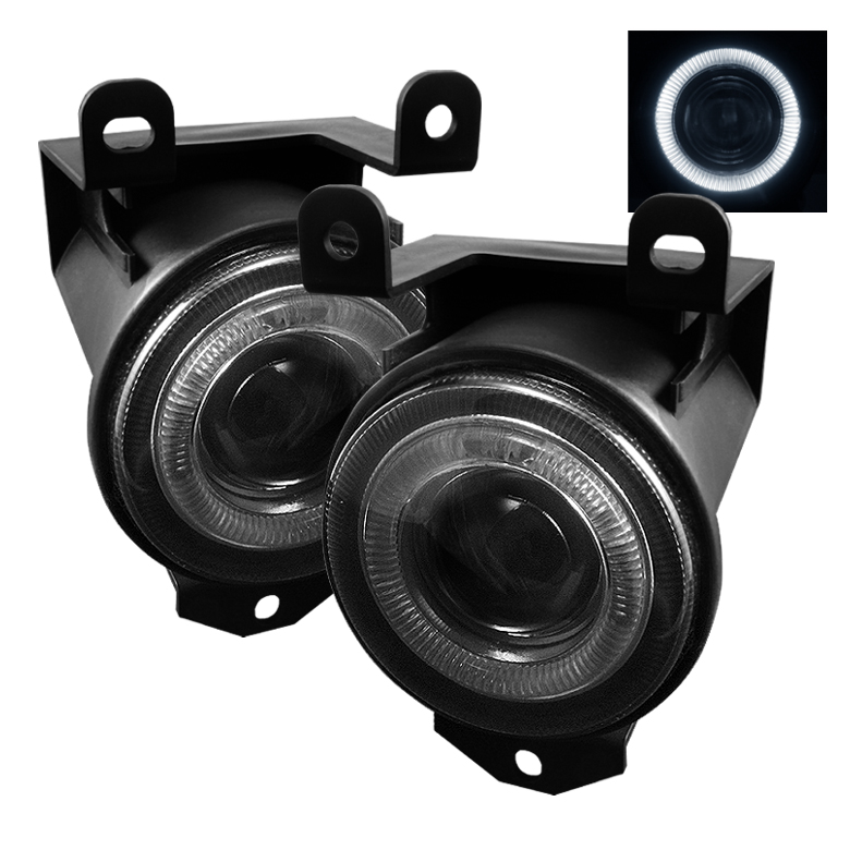 Gmc Sierra 1999-2006  Smoke Halo Projector Fog Lights