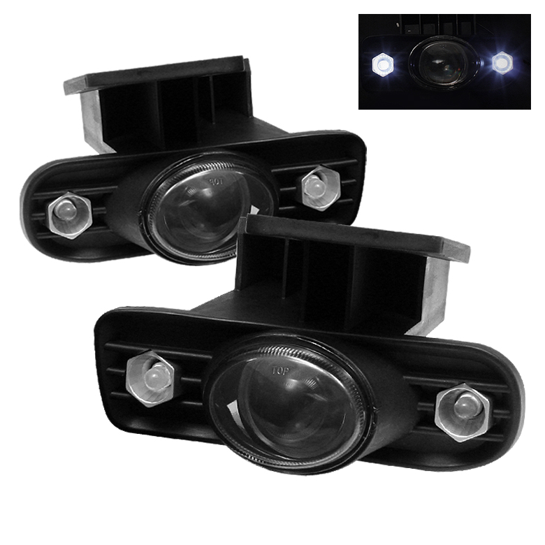 Gmc Sierra 1999-2002  Smoke Projector Fog Lights