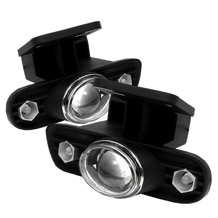 Gmc Sierra 1999-2002  Clear Projector Fog Lights
