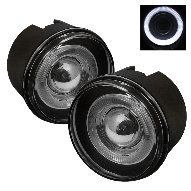 Jeep Grand Cherokee 2004-2007  Smoke Halo Projector Fog Lights