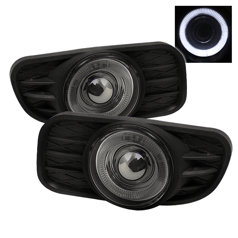 Jeep Grand Cherokee 1999-2003  Smoke Halo Projector Fog Lights