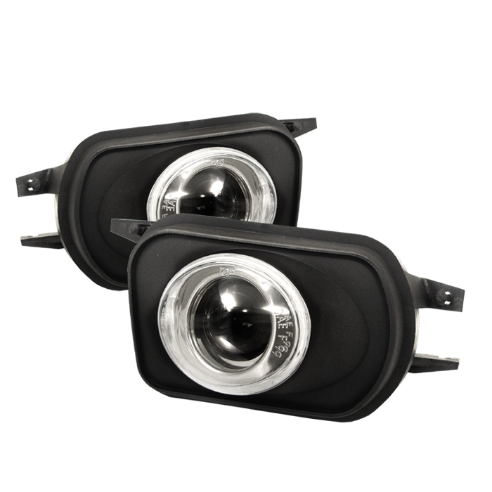 Mercedes Benz C Class 2000-2006  Clear Projector Fog Lights