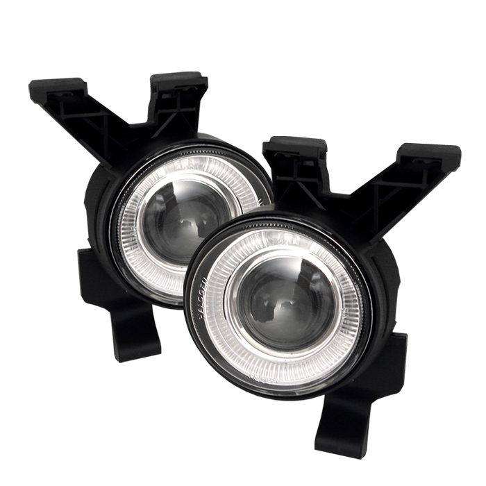 Volkswagen  Beetle 1998-2005  Clear  Halo Projector Fog Lights