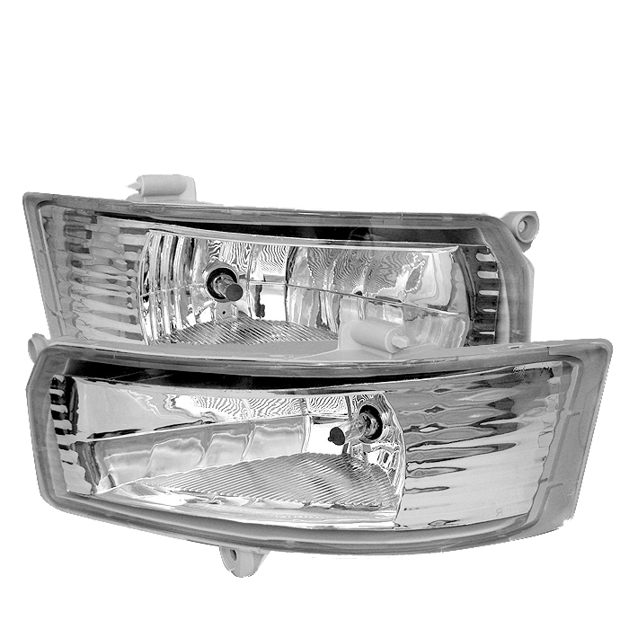 Toyota Camry 2005-2006  Clear Fog Lights