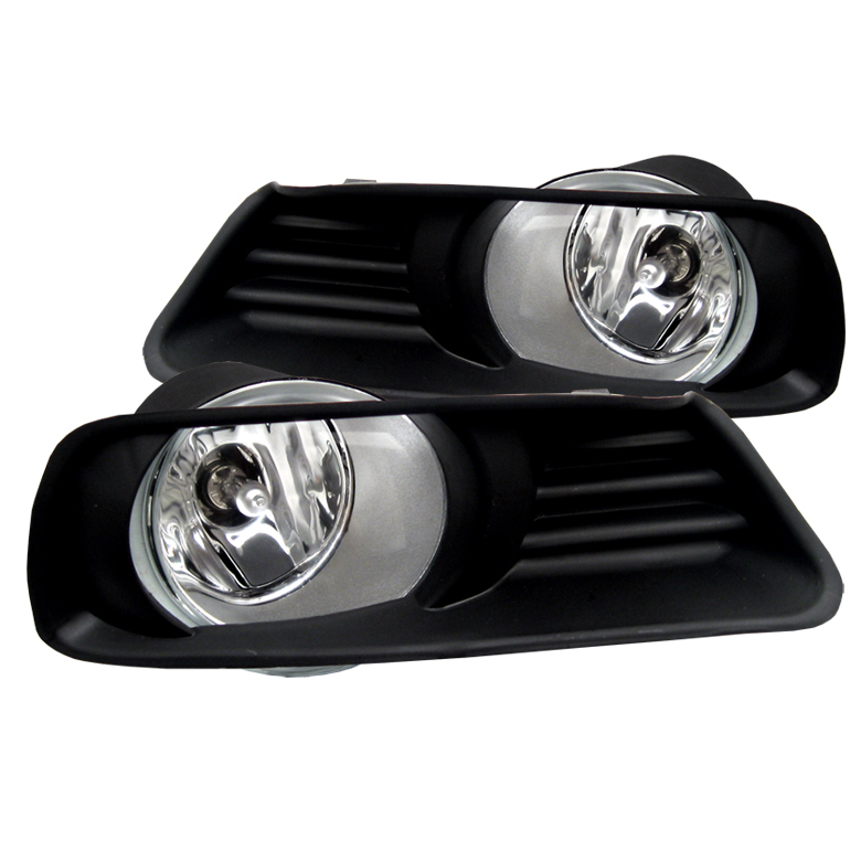 Toyota Camry 2007-2009  Clear Fog Lights