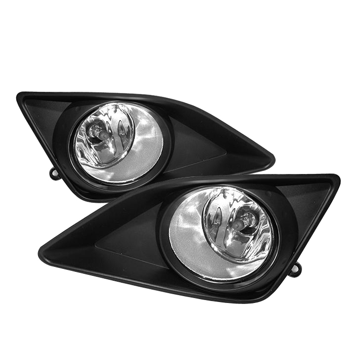 Toyota Corolla 2008-2009  Clear Fog Lights