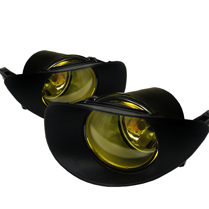 Toyota Yaris 2006-2008  Yellow Fog Lights
