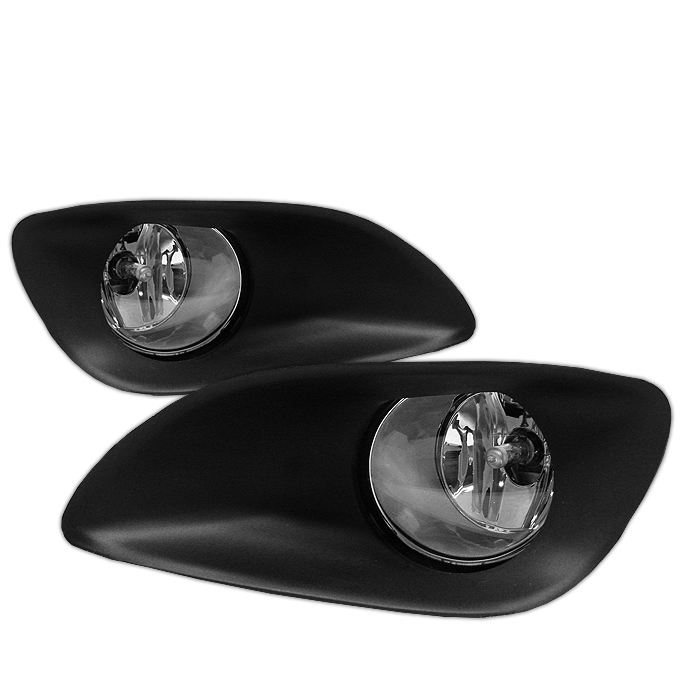 Toyota Yaris 2006-2008 4dr Clear Fog Lights