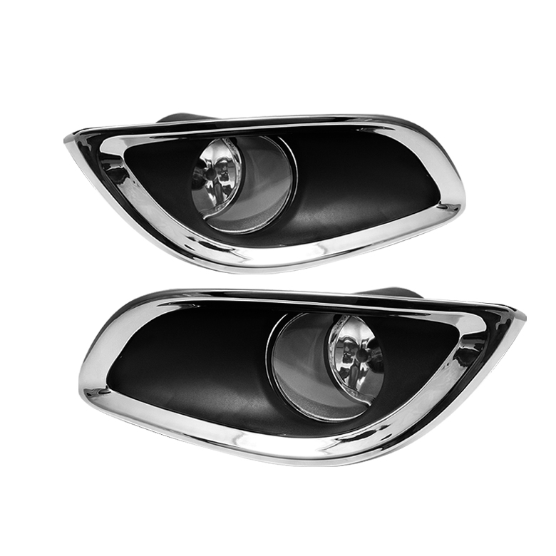 Toyota Yaris 2009-2010  Clear Fog Lights 3 door