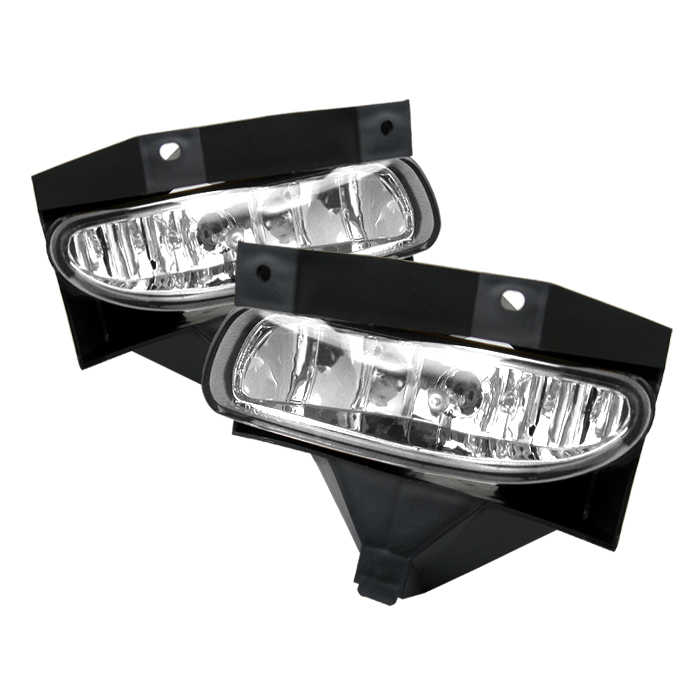 Ford Mustang 1999-2004  Clear Fog Lights  - (no Switch)