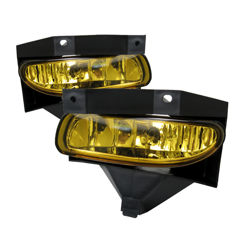 Ford Mustang 1999-2004  Yellow Fog Lights  - (no Switch)