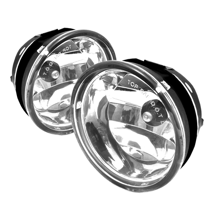 Nissan Titan 2004-2005  Clear Fog Lights  - (no Switch)