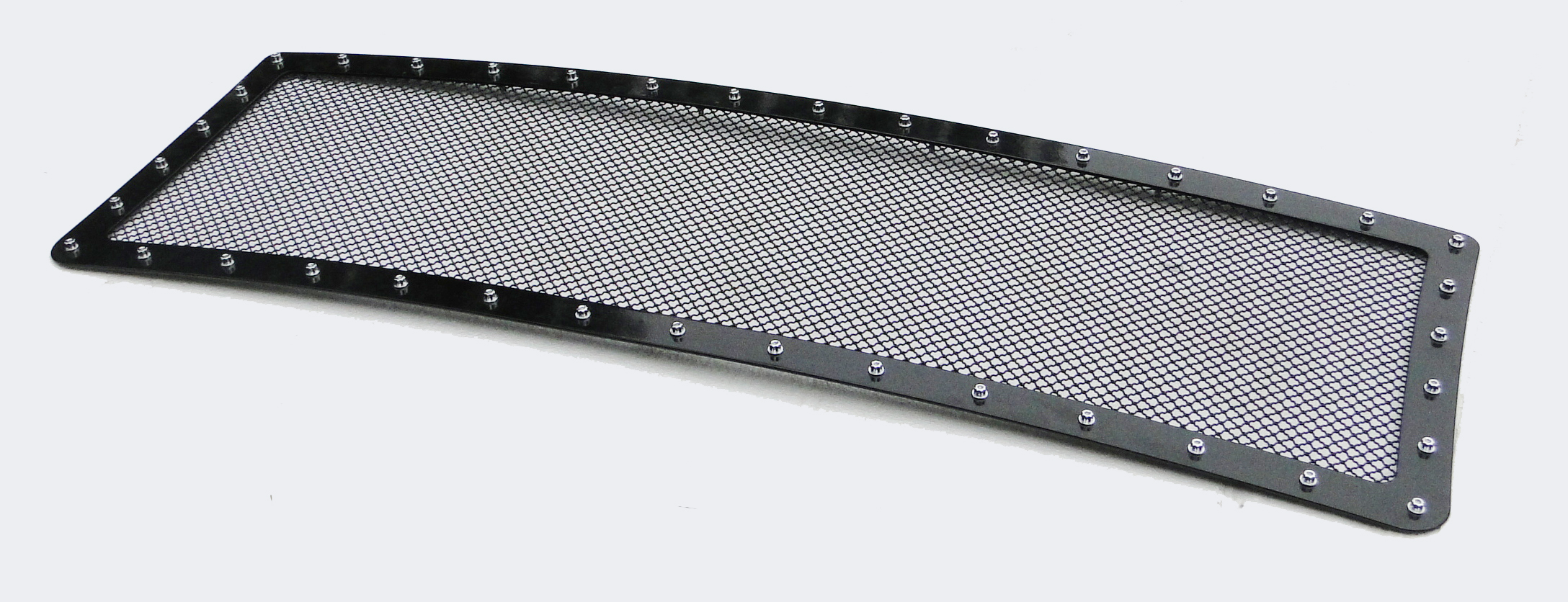 Ford F150  2009-2012 Black Powder Coated Main Upper Rivet Grille