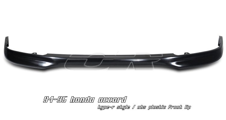 Honda Accord 1994-1995  Front Type-R Style Bumper Lip