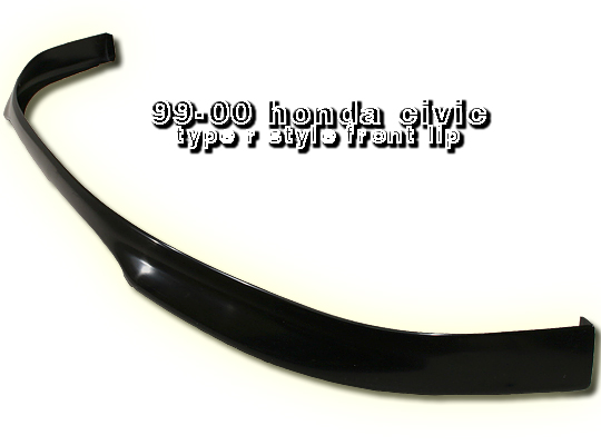 Honda Civic 1999-2000  Front Type-R Style Bumper Lip