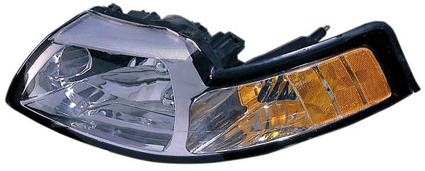 Ford Mustang 99-00 Passenger Side Replacement Headlight