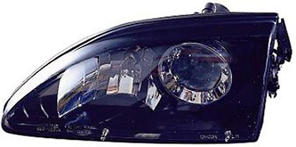 Ford Mustang 1994-1998 Black Projector Headlights