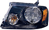 2005 Ford F150  Black Housing Diamond Back Headlights