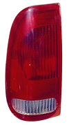 Ford F-150 and F-250 Light Duty 97-00 Driver Side Replacement Tail Light