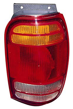 Mercury Mountaineer 98-00 Driver Side Replacement Tail Light
