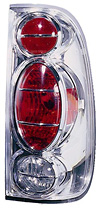 2002 Ford F150 Styleside  Chrome Euro Tail Lights