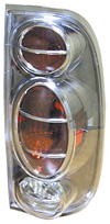 Ford F150 Styleside 1997-2003 Gun Metal Euro Tail Lights
