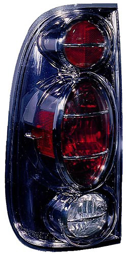 Ford F150 Styleside 1997-2003 Black Euro Tail Lights