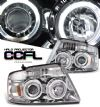 2005 Ford F150   Chrome W/ccfl Halo Projector Headlights