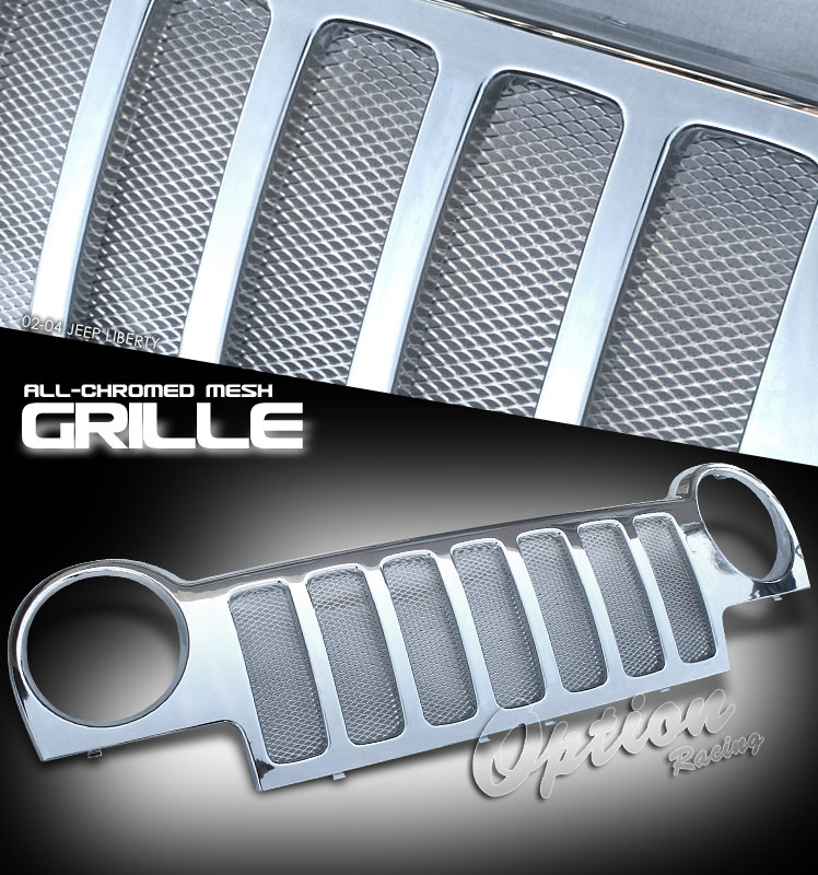Jeep Liberty 2002-2004  Sportmesh Style Front Grill