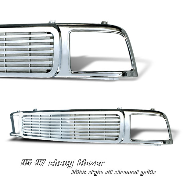 Chevrolet Blazer 1995-1997  Midsize/Composite Only Front Grill