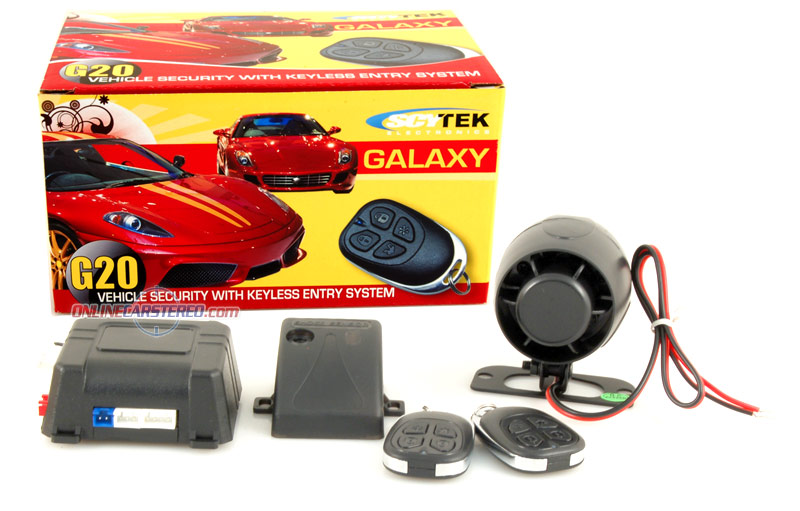 Scytek G20 - Car Alarm with Keyless Entry