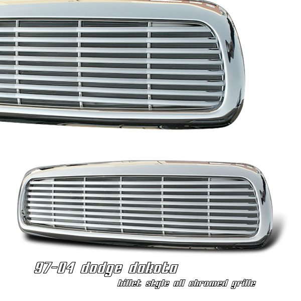 Dodge Dakota 1997-2004  Billet Front Grill