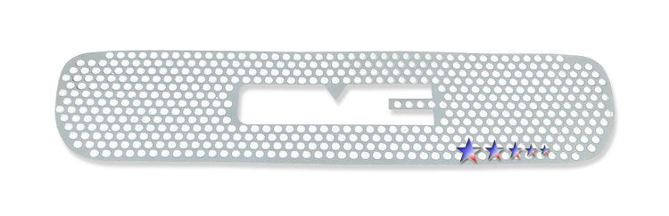Gmc Sierra Denali 2002-2006 Polished Main Upper Sheet Grille