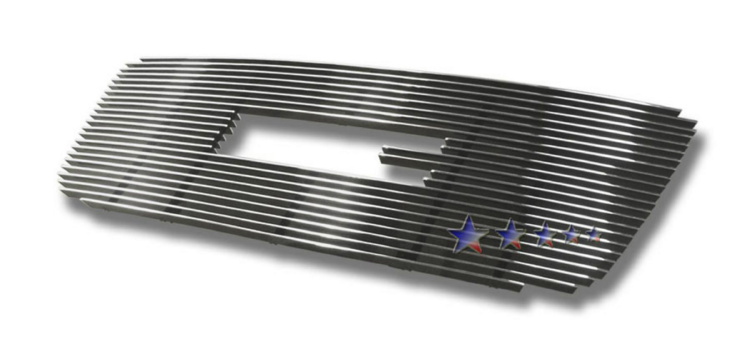 Gmc Savana Van  2003-2011 Polished Main Upper Aluminum Billet Grille