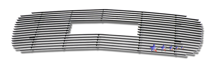 Gmc Sierra  2001-2002 Polished Main Upper Stainless Steel Billet Grille