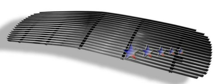 2001-2006 Gmc Denali  Polished Aluminum Billet Grille - Main Upper