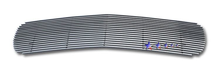 Gmc Sierra 1500 1999-2000 Polished Main Upper Stainless Steel Billet Grille