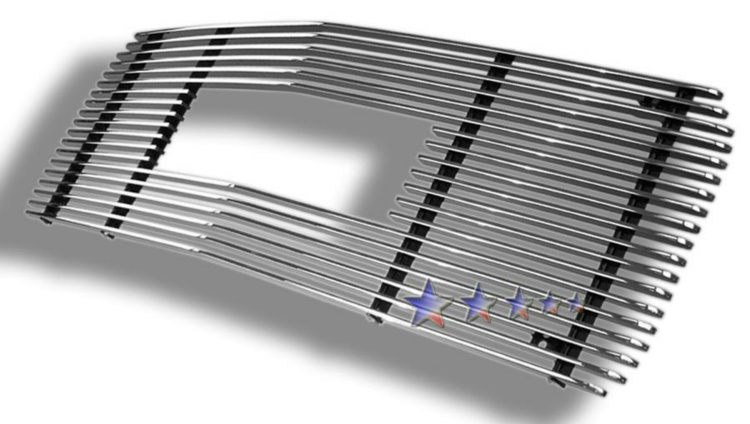 Gmc Suburban  1994-1999 Polished Main Upper Aluminum Billet Grille