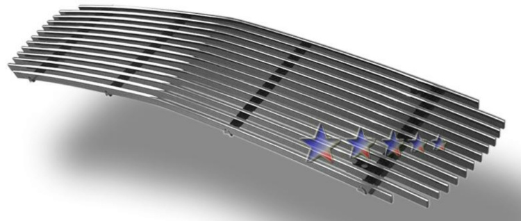 Gmc Sonoma  1998-2003 Polished Main Upper Aluminum Billet Grille