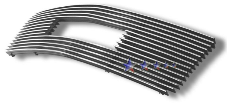 Gmc Safari  1995-2005 Polished Main Upper Stainless Steel Billet Grille